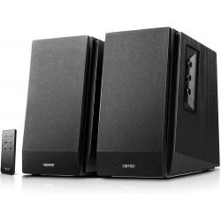 HAUTS PARLEURS Edifier Studio R1700BT Noir - Pack d'Enceintes 2.0 avec Télécommande Infrarouge