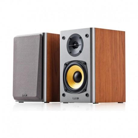 ENCEINTES Edifier R1000T4 Ultra-Stylish Active Bookself Speaker Maron