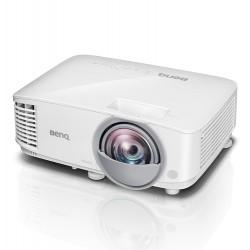 VIDEOPROJECTEUR BENQ DLP MX808ST Focale Courte 4:3 3D Ready XGA 1024x768 3000lm