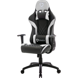 FAUTEUIL ONEX GX2 SERIES GAMING CHAIR BLACK/WHITE