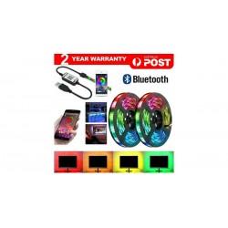 BANDE LED RGB P65 Waterproof 5050 4M 300 LEDs 12V USB Bluetooth-4M-240LED