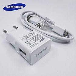 ADAPTATEUR SECTEUR SAMSUNG CHARGER TRAVEL WALL ADAPTER 5V 2A CABLE MICRO USB