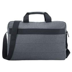 """Sacoche HP Value - Briefcase Style Portable 17,3"""" - Gris, Bleu Acier - Tissé, Structure - Poignée, Bandoulière - 40 mm Hau..."""