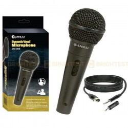 MICRO SANSAI Dynamic Professional Vocal Microphone Corded Mic Handheld