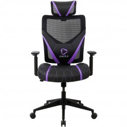FAUTEUIL GAMER ONEX GE300 BREATHABLE ERGONOMIC GAMING CHAIR BLACK/VIOLET