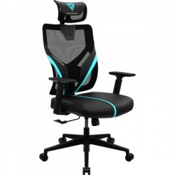 FAUTEUIL GAMER THUNDERX3 YAMA1 BREATHABLE ERGONOMIC GAMING CHAR BLACK/CYAN
