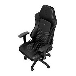 FAUTEUIL GAMER NOBLECHAIRS HERO GAMING CHAIR BLACK/PLATINUM WHITE