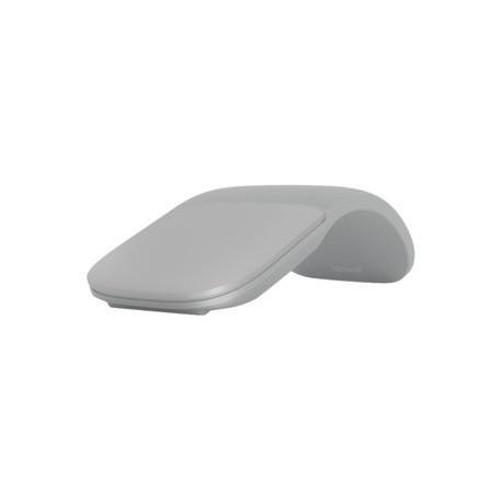 Souris Optique Microsoft Surface Arc Bluetooth 2 Bouton(s) Gris Clair Sans fil 1000 dpi
