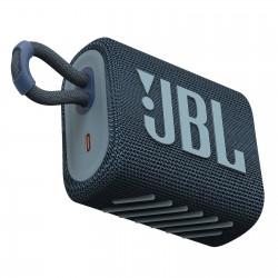 ENCEINTE JBL GO 3 BLUETOOTH BLEU IP67 5H AUTONOMIE