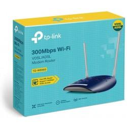MODEM ROUTEUR TP-LINK TD-W9960 WIFI N300 M00mbps VDSL ADSL