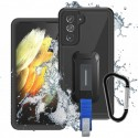 COQUE ARMOR-X SAMSUNG GALAXY S21 5G WATERPROOF CASE | IP68 SHOCK & WATER PROOF COVER W/ X-MOUNT & CARABINER