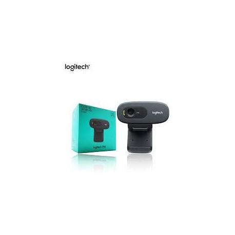 Logitech HD Webcam C270  Webcam HD 720p compatible Facebook/Skype/MSN (ref : 960-001063)
