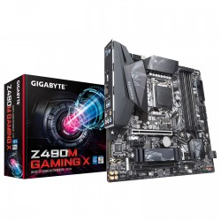 CARTE MERE Gigabyte Z490M GAMING X Micro ATX Socket 1200 Intel Z490 Express