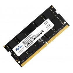 Mémoire Netac 8GB (1x8GB) DDR4 SODIMM 2666MHz CL19 Single Ranked