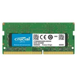 MEMOIRE PC Crucial SO-DIMM DDR4 16 Go 2666 MHz CL19 Dual Rank X8 RAM DDR4 PC4-21300