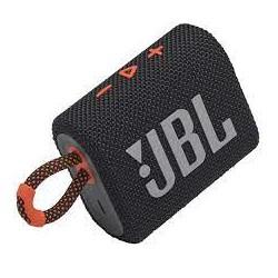 ENCEINTE JBL GO 3 BLUETOOTH NOIR/ORANGE IP67 5H AUTONOMIE