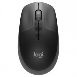 SOURIS LOGITECH M190 WIRELESS MOUSE PLUG AND PLAY, 2.4GHZ NANO RECEIVER - CHARBON