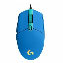 SOURIS GAMER LOGITECH G203 LIGHTSYNC FILAIRE USB RGB BLEUE