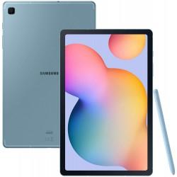 """TABLETTE Samsung Galaxy Tab S6 Lite 10.4"""" 4Go 64Go Wi-Fi 4G LTE ANGORA BLUE SM-P615"""