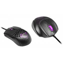 SOURIS  COOLER MASTER MM710/711 MOUSE GRIP TAP, HAIRLINE BRUSHED BLACK 0.75MM THICKNESS