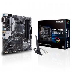 CARTE MERE ASUS PRIME B550M-A (WI-FI) MATX Socket AM4 AMD B550