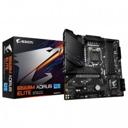 CARTE MERE Gigabyte B560M AORUS ELITE Micro ATX Socket 1200 Intel B560 Express