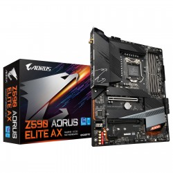 CARTE MERE Gigabyte Z590 AORUS ELITE AX ATX Socket 1200 Intel Z590 Express