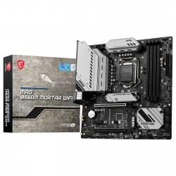 CARTE MERE MSI MAG B560M MORTAR WIFI Micro ATX Socket 1200 Intel B560 Express