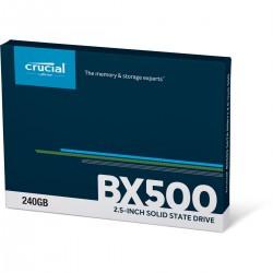 """DISQUE DUR SSD Crucial BX500 240Go 2.5"""" 7mm Serial ATA 6Gb/s"""