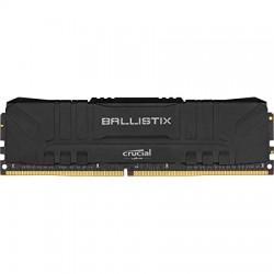 MEMOIRE PC Ballistix Black 8Go DDR4 3000 MHz CL15 RAM DDR4 PC4-24000 UDIMM - BULK