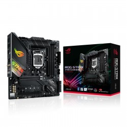 CARTE MERE ASUS ROG STRIX Z490-G GAMING Wi-Fi Micro ATX Socket 1200 Intel Z490 Express