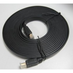 CABLE 8WARE HDMI 2M PLAT V1.4 19PIN MALE TO MALE GOLD PLATED 3D 1080p