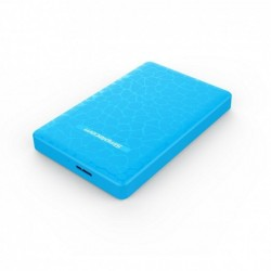 "BOITIER DISQUE DUR SIMPLECOM SE101 COMPACT 2.5"" SATA VERS USB 3.0 BLEU"