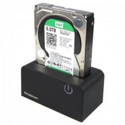 "STATION D'ACCUEIL SIMPLECOM SD326 USB 3.0 VERS SATA HDD / SSD 3.5"" ET 2.5"""