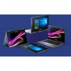 """Portable Asus VivoBook Flip 14 TP412 TP412FA-EC442T i3-10110U 4Go 256Go SSD Intel UHD 620 14"""" W10F S mode"""