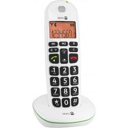 TELEPHONE FIXE Doro PhoneEasy 100w - DECT - Blanc - Sans fil