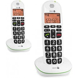 TELEPHONE FIXE DORO PHONEEASY 100W DUO - DECT - HAUT PARLEUR - SAN S FIL
