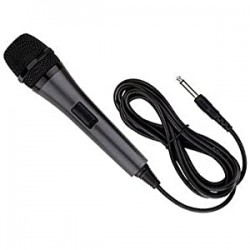 MICROPHONE  Singing Machine SMM-205 Unidirectional Dynamic FILAIRE 3M