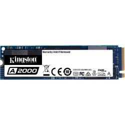 DISQUE DUR Kingston A2000 - M.2 2280 Interne - SSD 250 Go - PCI Express 3.0 x4