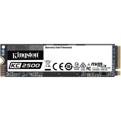 DISQUE DUR Kingston SSD KC2500 - M.2 2280 Interne - 500 Go - PCI Express NVMe 3.0 x4