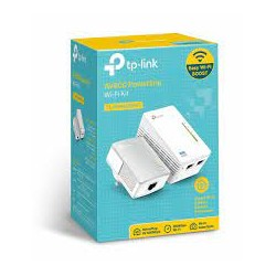 KIT CPL TP-LINK TL-WPA4220KIT 500 Mbps + adaptateur CPL Wi-Fi N 300 Mbps 2 ports