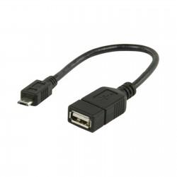Adaptateur USB 2.0 OTG femelle / micro USB mâle (5 pin)