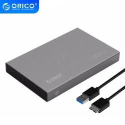 Boîtier Disque dur Externe ORICO USB 3.0 Aluminium pour DD 2.53 SATA III HDD et SSD