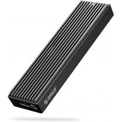 Boîtier Externe ORICO SSD M.2 NVME 10Gpbs NVME USB 3.1 Gen2 USB C pour M.2 PCIe NVME