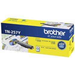 BROTHER TN-257 CYAN Toner Cartridge - 2,300 pages ***