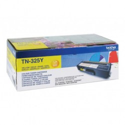 BROTHER TN-325Y JAUNE Toner Cartridge - 3,500 pages