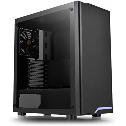 BOITIER PC Thermaltake H100 Tempered Glass Mid Tower Case