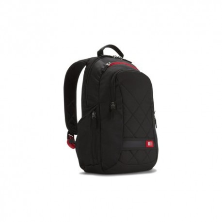 "Sacoche Case Logic DLBP114K - Sac à dos pour portable 14"" - Noir - Polyester"