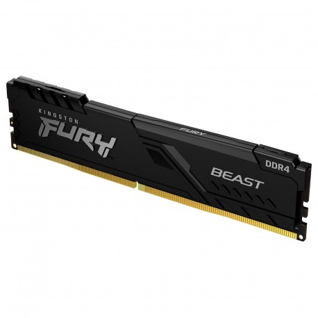 MEMOIRE PC Kingston FURY Beast 16 Go DDR4 3200 MHz CL16 RAM DDR4 PC4-25600