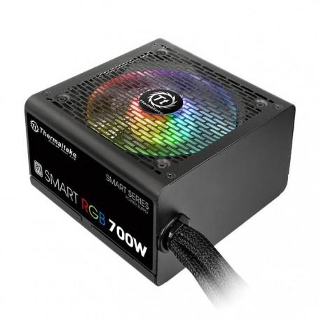 ALIMENTATION PC Thermaltake Smart RGB 700W ATX 12V Ventilateur RGB 120mm 80 PLUS 230V